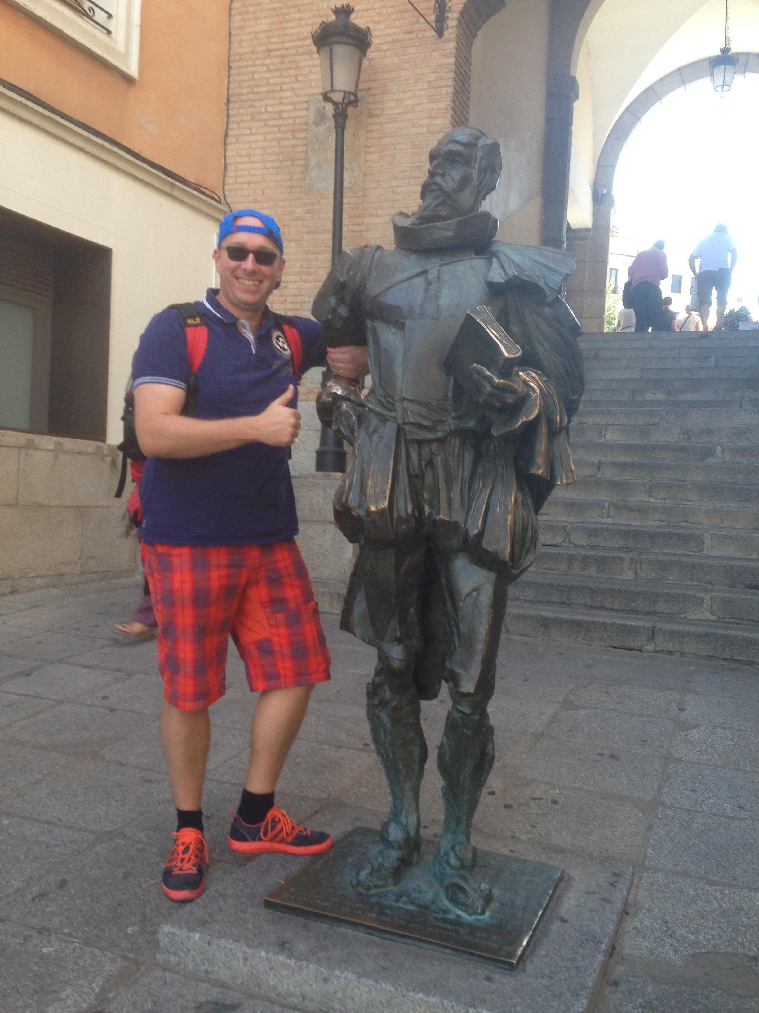 Herr Kramß und señor Cervantes