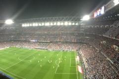 el estadio Bernabéu
