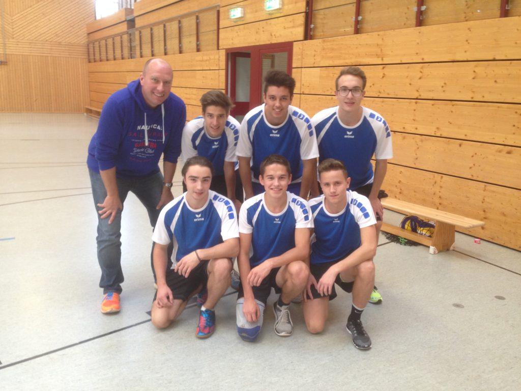 Volleyball Schulmannschaft erreicht 3. Platz im Kreisfinale