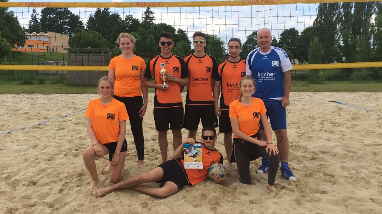 vBG-Beachvolleyball – Team holt Kreismeistertitel in der WK I.