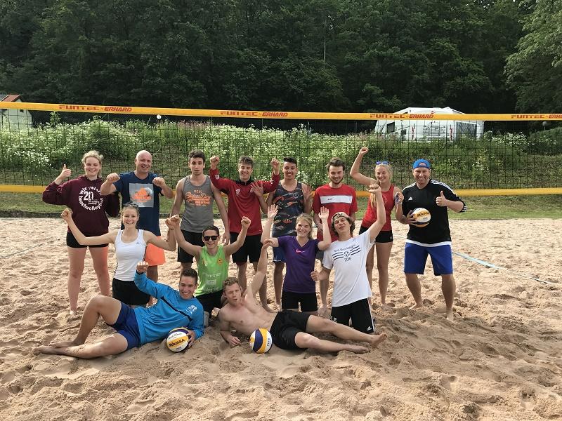 Beachvolleyball – Ausbildung in Georgenthal