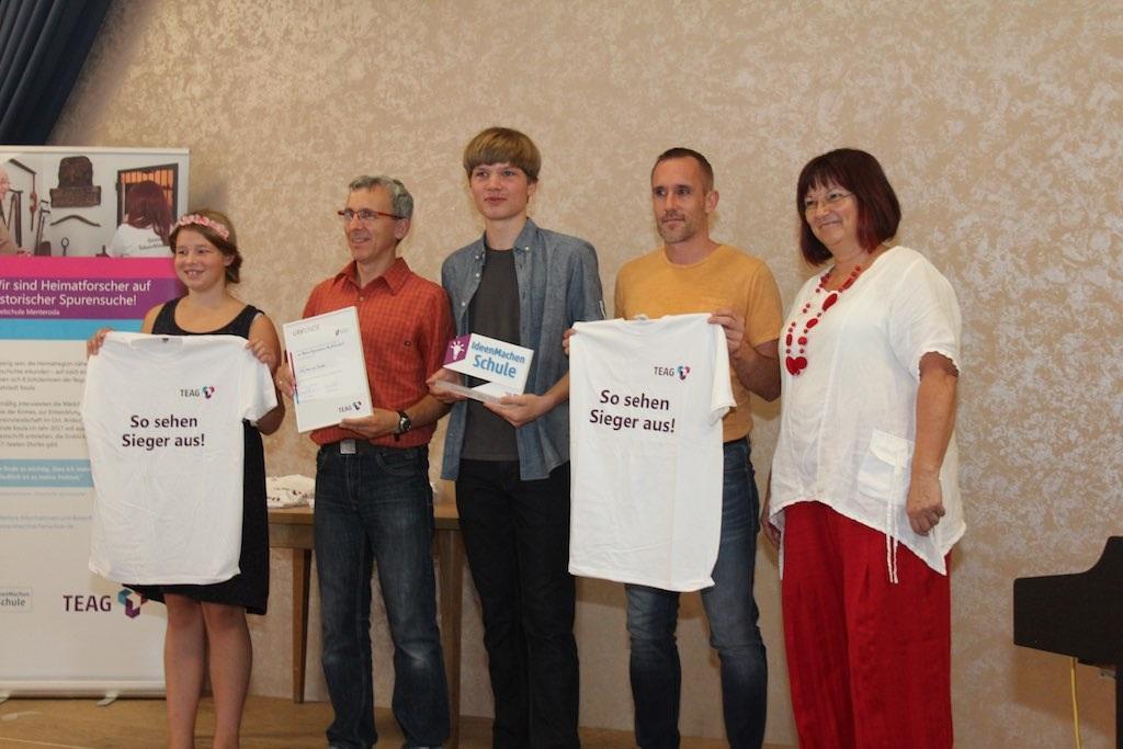Von-Bülow-Gymnasium Neudietendorf wird für Umwelt-Projekt zum Leuchtturm ernannt