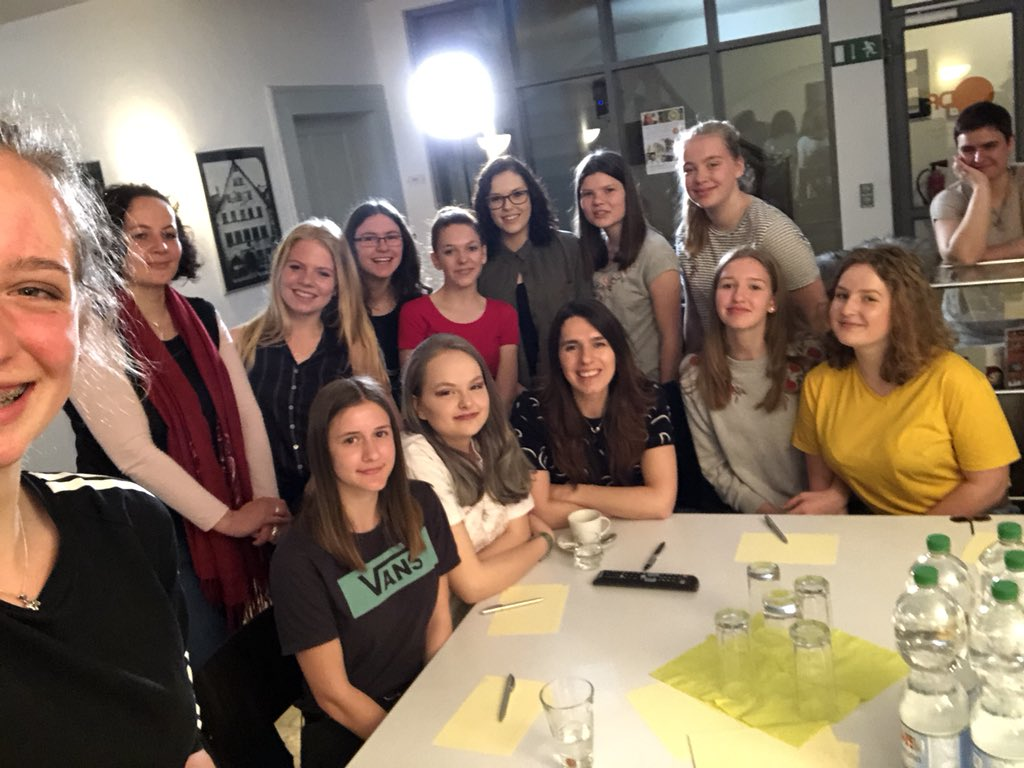 Girls'Day im ZDF-Landesstudio