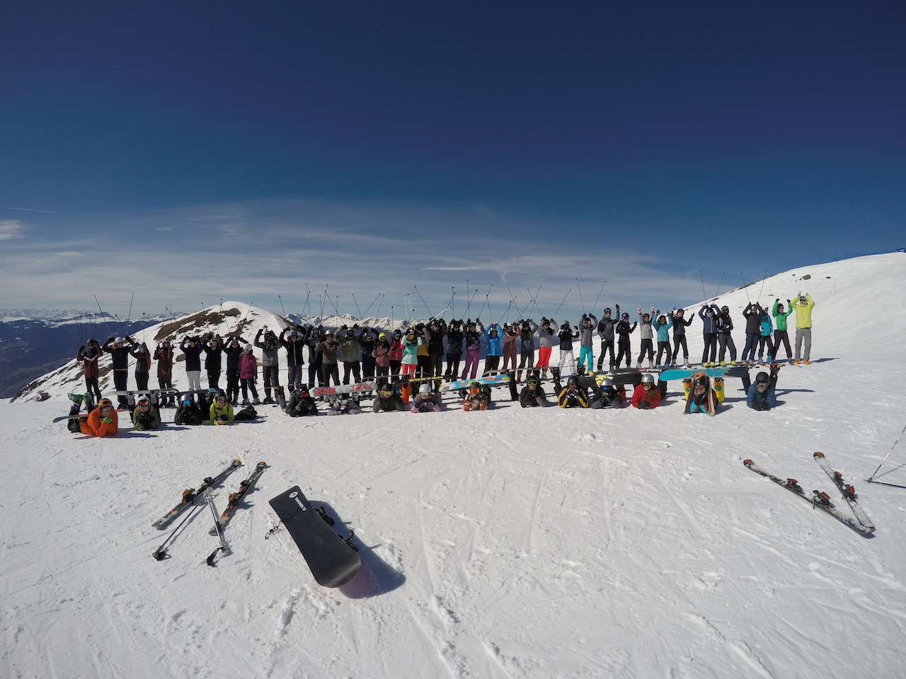 """""""Auffe auf`n Berg, und obi mit di Ski"""""""