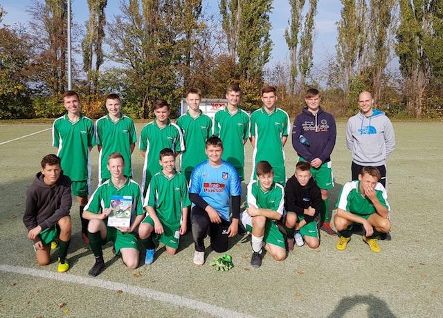 Schulfußballteam der WK II. gewinnt Kreisfinale und zieht ins Schulamtsfinale ein