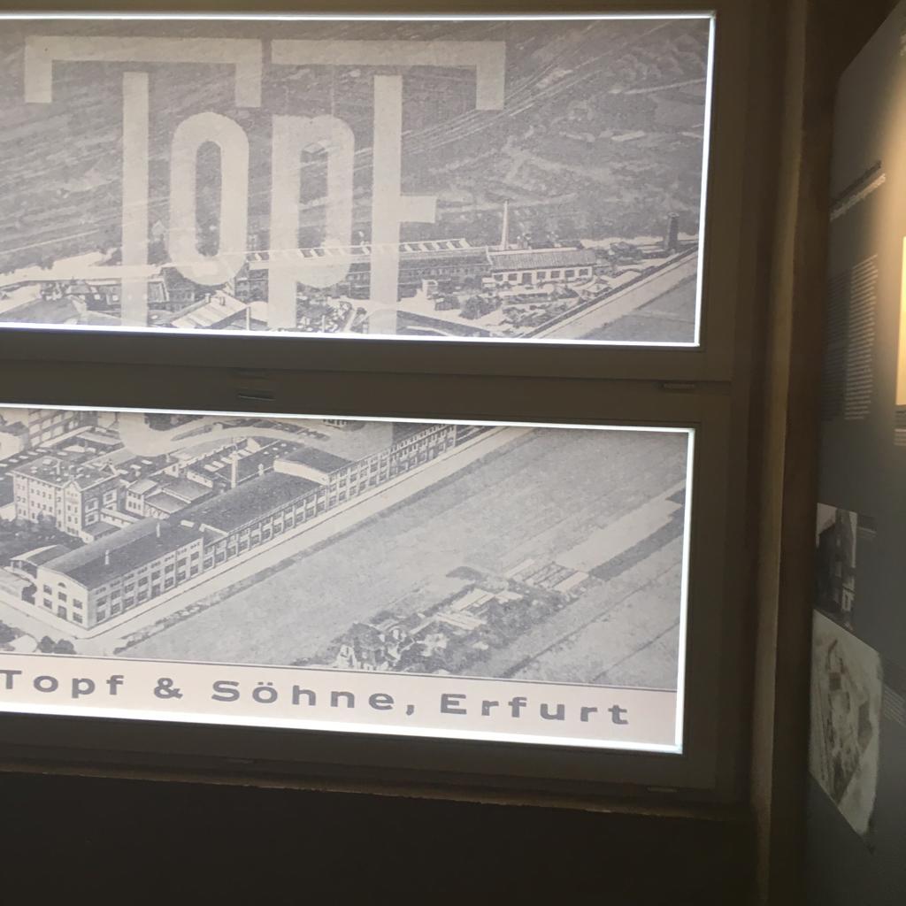 Klasse 10a zu Besuch bei Topf & Söhne in Erfurt