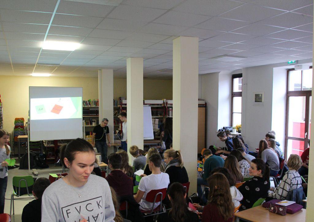 Die fünfte Umweltkonferenz am von-Bülow-Gymnasium