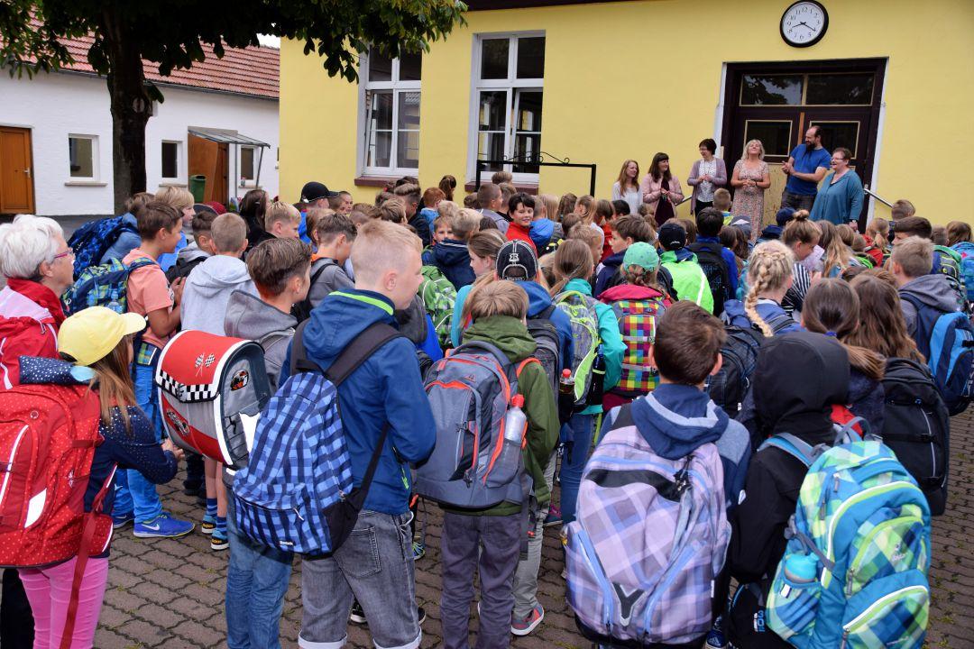 1. Schultag in Apfelstädt