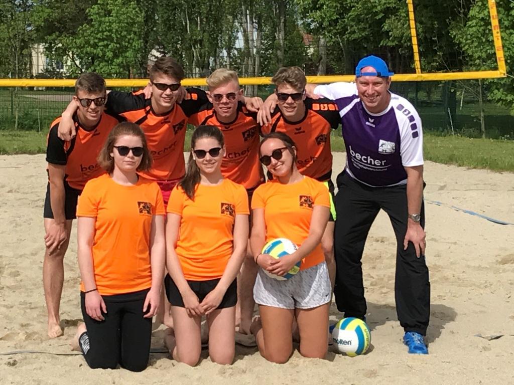 vBG – Beachvolleyballer ziehen ins Schulamtsfinale ein
