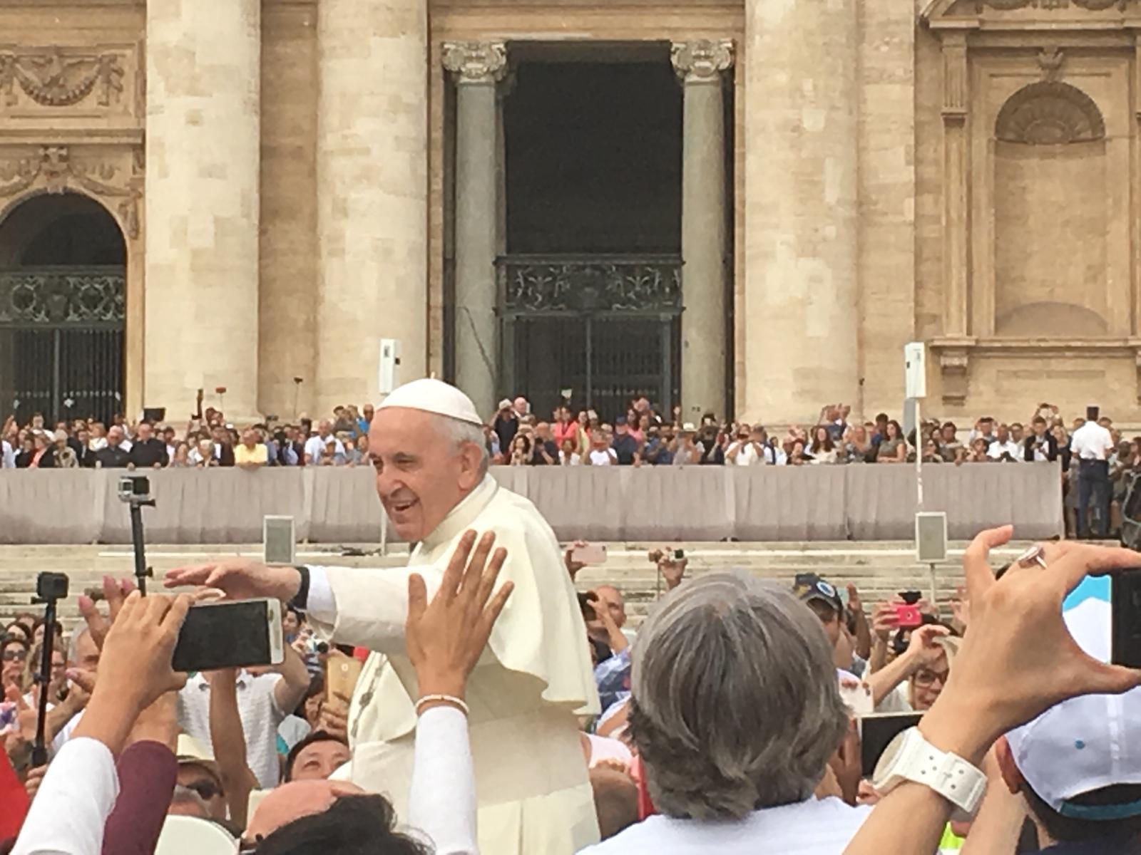 Tag 4 in Rom – In der Obhut des heiligen Vaters