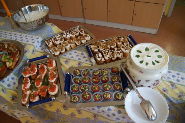 Kochprüfung für die Mitglieder der LIG Hauswirtschaft